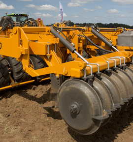Photo of the Brock SuperTill 530 at Cereals 2016